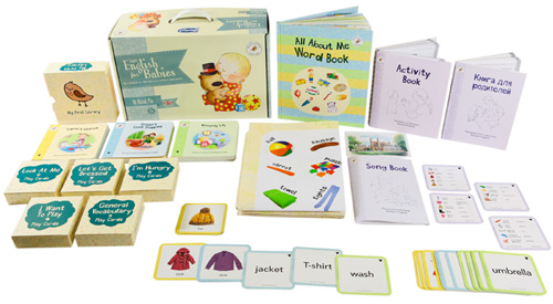 Комплект Умница Skylark English For Babies. All About Me